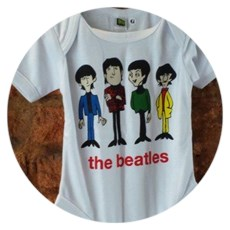 Beatles para o chá de fraldas do Bento
